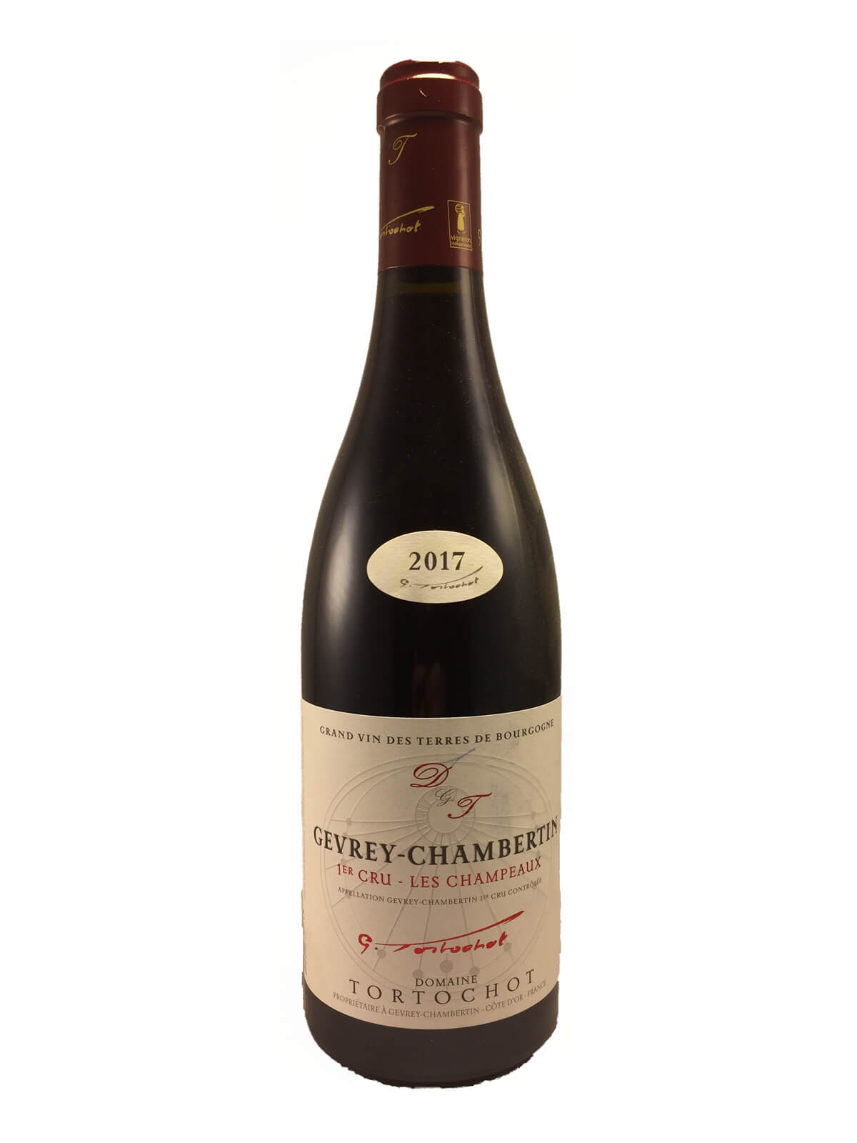 GEVREY CHAMBERTIN 1er Cru CHAMPEAUX 2017 Domaine TORTOCHOT