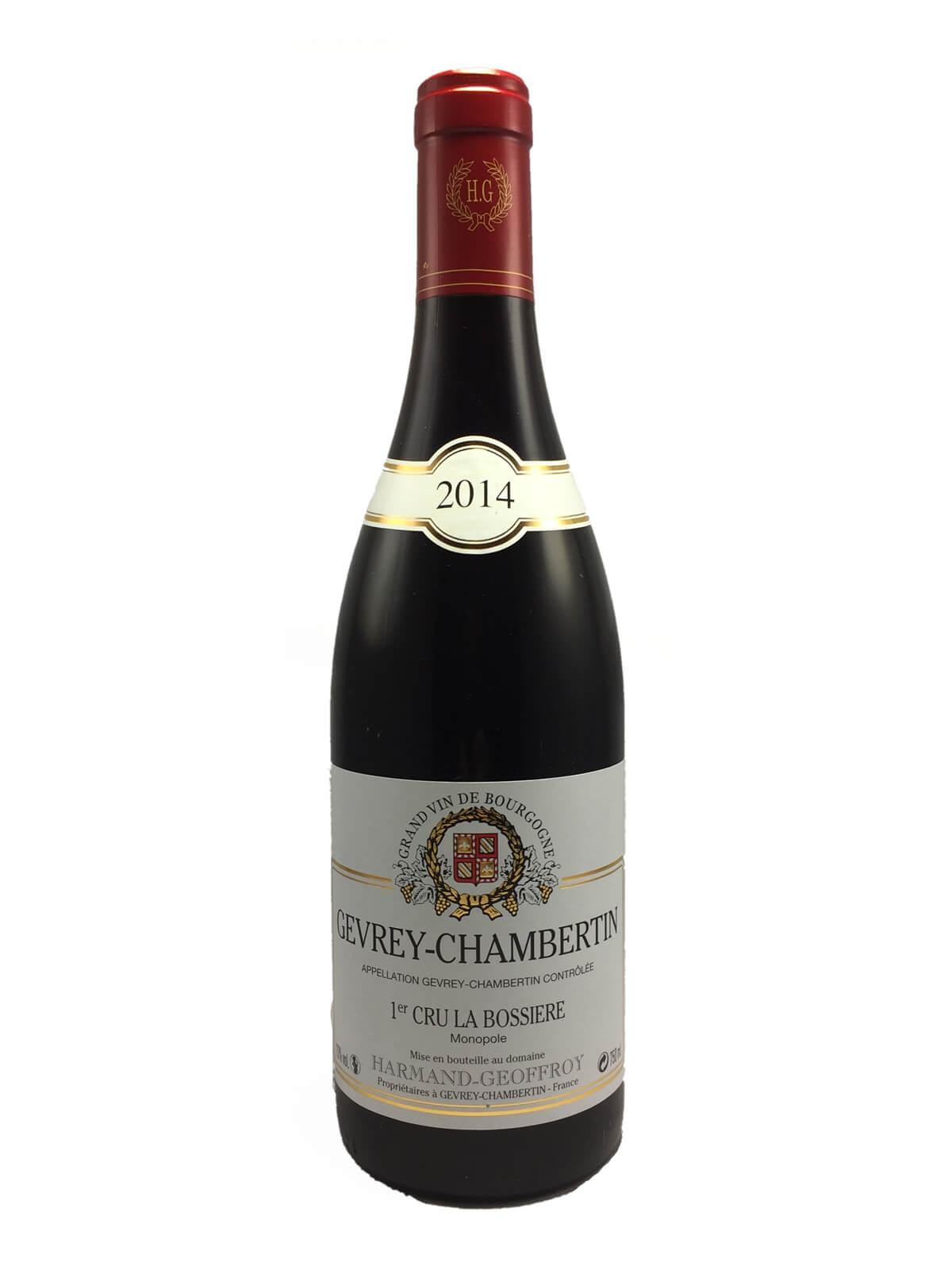 GEVREY CHAMBERTIN 1er Cru La Bossière 2014 Domaine HARMAND