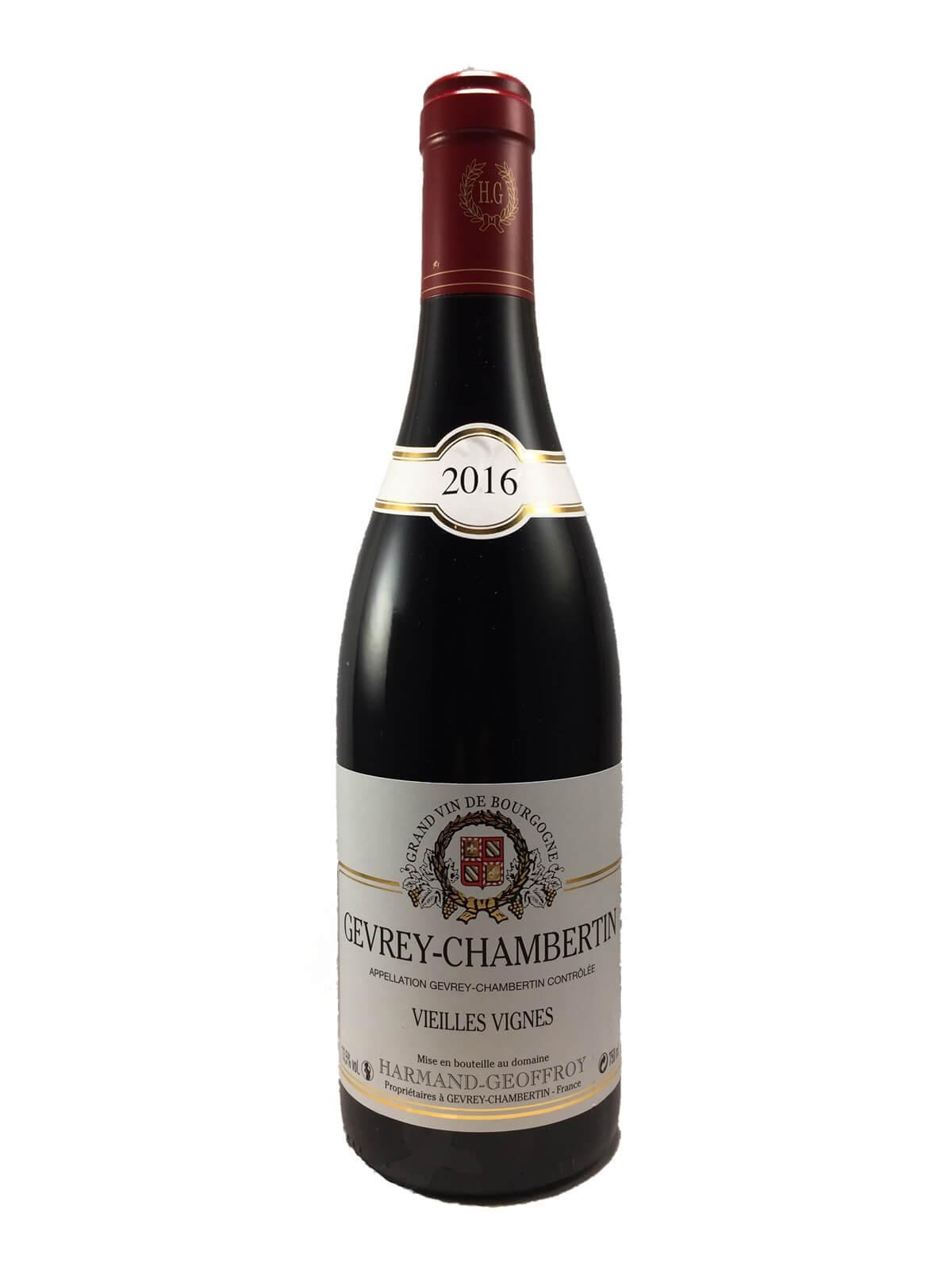 GEVREY CHAMBERTIN Vieilles Vignes 2016 Domaine HARMAND GEOFFROY